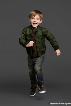 Kidswear For Boys Dolce & Gabbana Fall-Winter 2013-2014 Lookbook (8)