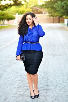 Look for lady plus size Business Mode, Business Outfit, Curvy Girl Fashion, Plus Size Fashion, Womens Fashion, Big Fashion, Work Fashion, Ladies Fashion, Tumblr Outfits