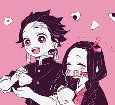 "🍙🐟 on Twitter: ""炭治郎とねずこ とか… "" Manga Anime, Anime Demon, Anime Art, Familia Anime, Demon Hunter, Dragon Slayer, Slayer Anime, Doujinshi, Anime Characters"