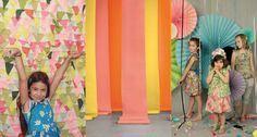 The best photobooth backdrops ideas.  Would made good party decor, too.