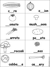 Resultado de imagen de fruits and vegetables worksheet