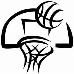 this is best girls basketball clipart 11266 girls basketball images rh pinterest com basketball clipart black and white pictures basketball clipart black and white png