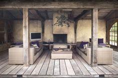 35 Ideas backyard bbq ideas design for 2019 Outdoor Lounge, Outdoor Rooms, Outdoor Living, Outdoor Patios, Outdoor Kitchens, Fire Pit Backyard, Backyard Patio, Backyard Ideas, Backyard Landscaping