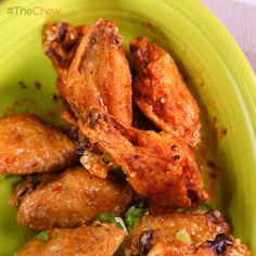 Carla, Daphne and Mario's Crispy Chicken Wings #TheChew500 #TheChew