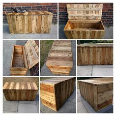 Rustic Storage Bench Seat Handcrafted From By TimberWolfFurniture | Timber  Wolf Furniture | Pinterest | Storage Bench Seating, Bench Seat And Storage  ...