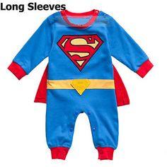 Superman Baby Kid Toddler Onesie Bodysuit Romper Jumpsuit Outfit Cloth One-Piece