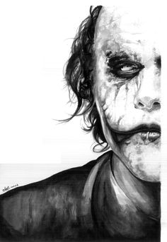 the joker drawing - Google Search