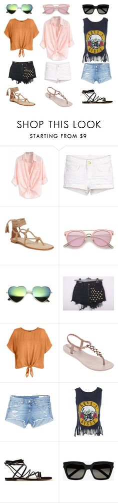"""""""Untitled #117"""" by stylxo ❤ liked on Polyvore featuring IPANEMA, rag & bone/JEAN, Gianvito Rossi and Yves Saint Laurent"""