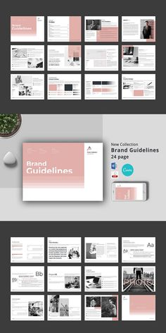 File Included: Microsoft Word 2016 ( docx file ) 1 Canva file 1 PDF file Brand Guidelines Features: A4 landscape pages 24 costum pages Multipurpose Simple and Minimal Layout Clean Layout Size: 11.69 x 8.27 in+ 5mm bleed 6 / 12 Content Column Grid Easy Change Photo with Smart Object Everything you see can be edited #Brand #Guidelines #Canva #MSWord Brand Guidelines Template, Layout, Templates, Words, Stencils, Page Layout, Vorlage, Models, Horse
