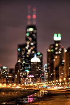 all the little city lights..
