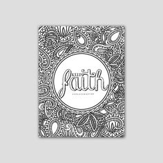 Coloring Page Bible Verse Printable Romans 12:12 by AnimaDolce