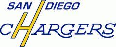 San Diego Chargers Wordmark Logo - National Football League (NFL ...