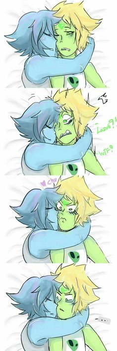 Want to discover art related to lapidot? Check out inspiring examples of lapidot artwork on DeviantArt, and get inspired by our community of talented artists. Steven Universe Lapidot, Steven Universe Ships, Steven Universe Funny, Lapis Lazuli, Lapis And Peridot, Universe Art, Fanart, Cartoon Art, Geek Stuff