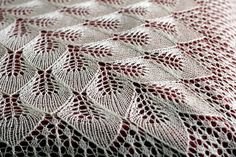 This hand knit shawl is made of tussah silk in a sweet vanilla color. The laced fabric is very delicate and almost featherweight. It could be a great wedding shawl. Bridal Shawl, Wedding Shawl, Bridal Lace, Lace Knitting, Knitting Patterns, Crochet Patterns, Wire Crochet, Knit Crochet, Perfect Gift For Her
