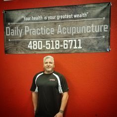 "Go Fit Yourself in co-operation with Desert Fitness is proud announce one of it's own, Klint Noel, owner and operator of...  Daily Practice Acupuncture ~  ""Your health is your greatest wealth""  For more details or appointment setting call TODAY!  480-518-6711  ""Get with the program or ~ Go Fit Yourself!"""