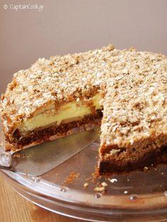 Caramel Apple Crumble, Caramel Apples, Greek Desserts, Apple Pie, Tiramisu, Tea Time, Sandwiches, Cheesecake, Sweets