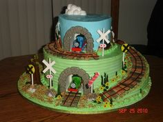 Cake-Thomas the Train