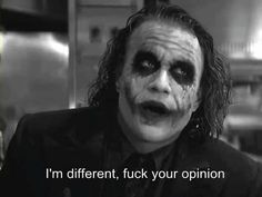 The story is about the joker from the dark knight (Heath ledger) and you ! + sexual thoughts and pleasures from the joker Der Joker, Joker Heath, Heath Legder, Citations Jokers, Photo Vintage, Joker And Harley Quinn, The Godfather, Movie Quotes, Life Quotes