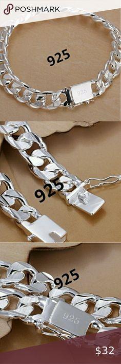 .925 Sterling Silver Purse Charm Pendentif Femmes Sac à Main Fashion 3D 925