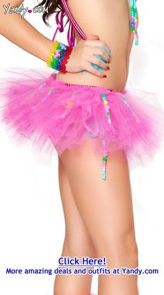 beaded tutu for the next rave ♥