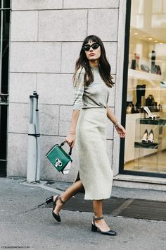 Milan Fashion Week, Street Style #streetstyle #fashion