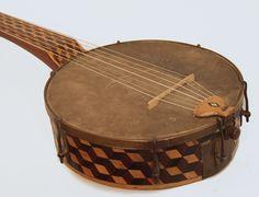 1850s 7-string Minstrel Banjo