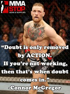 Are you ready for this weekend's fights?! Connor McGregor sure is! #UFC #MMA - uploaded by #MMAStop