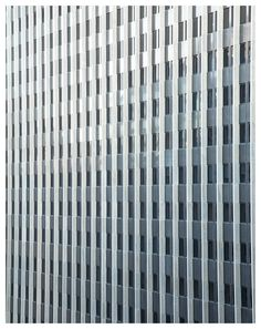 City Scape shades of grey pattern art print wall by mucontinent