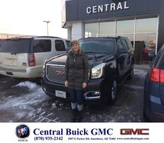 https://flic.kr/p/DgdFKV | Happy Anniversary to Joe & Leah  on your #GMC #Yukon from Justin Duckert at Central Buick GMC! | deliverymaxx.com/DealerReviews.aspx?DealerCode=GHWO