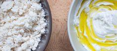Uno es catalán. El otro, de Oriente Próximo. Pero ambos productos lácteos son igual de deliciosos, y se pueden hacer en casa en lo que canta un gallo con barretina en Beirut.