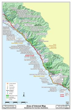 The following link shows current closures: Big Sur Closures/Access points Below are the interactive maps. Some locations are on private property and trespassing laws are strictly enforced. Please s…