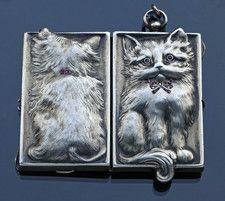 Sweet cat locket - Pendants - Tadema Gallery