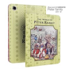 IPad Protective Cartoon case with Peter rabbit for
