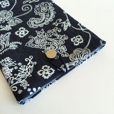 Floral Jean Ipad Mini Case,Jean Ipad Sleeve,Blue Ipad Cover,Floral Ipad Mini Case,Fabric Ipad Case,Jean Book Case,Flower design İpad Case by GFMODE on Etsy