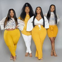 Thick Girl Fashion, Plus Size Fashion For Women, Curvy Women Fashion, Plus Size Women, Thick Girls Outfits, Curvy Girl Outfits, Plus Size Outfits, Plus Sise, Looks Plus Size