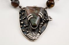 Underwater Vision Necklace with Landscape by DaisyCatJewelry, $175.00