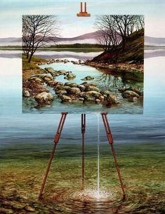 Neil Simone, 1947 | Visionary Surrealist painter | Tutt'Art@ | Pittura…