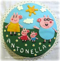 Peppa pig Cake - Torta Peppa pig