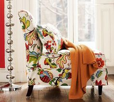 I need this chair; I think it's possible, now that I've seen this chair, it will be physically impossible to read in any other type of seating.