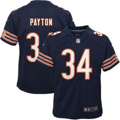 Walter Payton Chicago Bears Nike Youth Retired Game Jersey - Navy