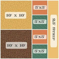 How to cut a fat quarter to get two layer cakes, four charms and one jelly roll strip