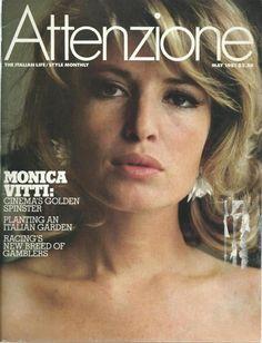 Monica Vitti, one of the most beautiful Italian actresses.