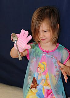 Magnetic glove for lots of magnet fun!!