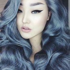 Love, love this hair color. Via IG Nayeona