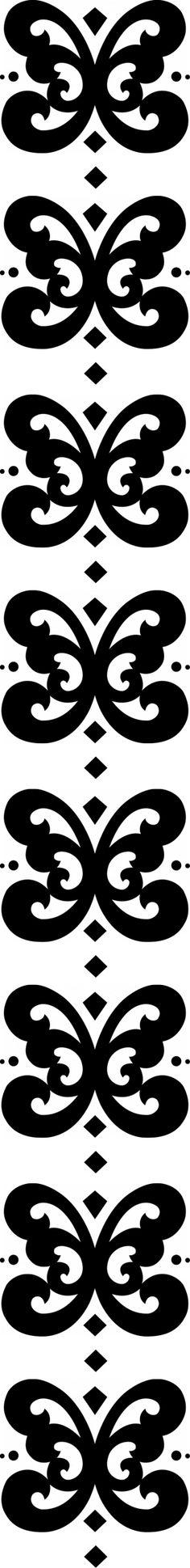 stencil border *vector*