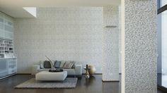 Schöner Wohnen Tapete 944825; simuliert auf der Wand