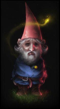 Sad gnome...