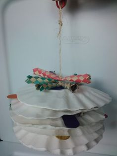 Good idea with coffee filters! Can totally make this...