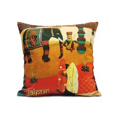 JAIPUR CUSHION COVER  Buy Here -http://madinindia.in/collections/cushion-covers/products/jaipur-cushion-cover MRP - Rs 800