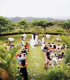 A Garden Wedding In Jamaica At Good Hope Great House Falmouth Weddings